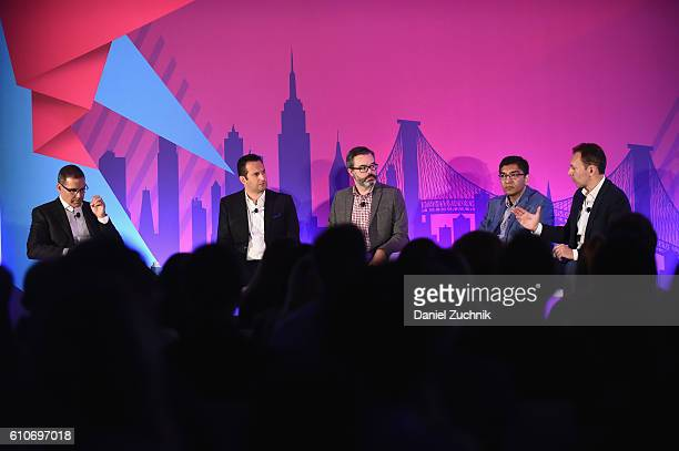 Oracle's Rob Holland Heineken's Frank Amorese BBDO's Josh Ehart PepsiCo's Atin Kulkarni and Facebook's Will PlattHiggins speak at the DataDriven...