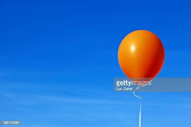 Orange Heißluftballon # 1 XXXL