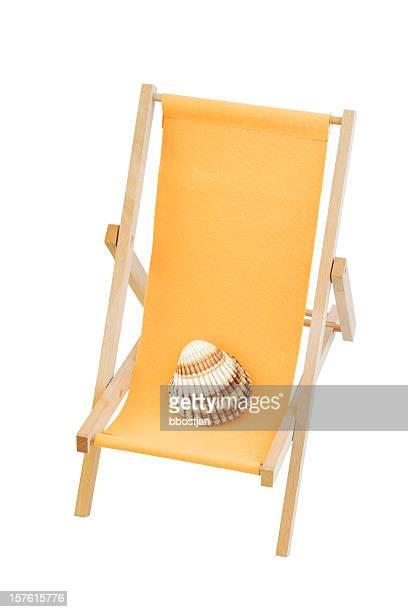 Orange beach Stuhl