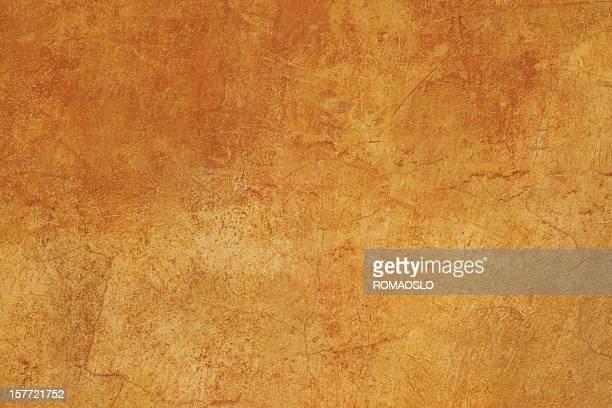 Orange brown Roman grunge Wand Textur Hintergrund XXXL, Rom, Italien