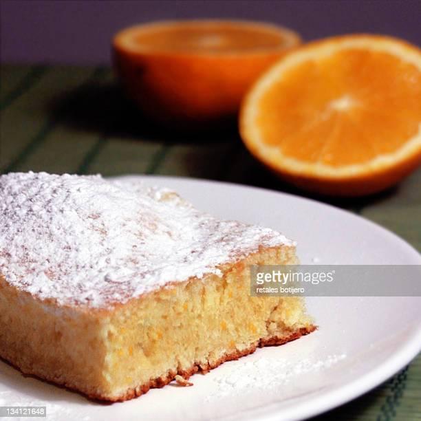 Orange cake with orange