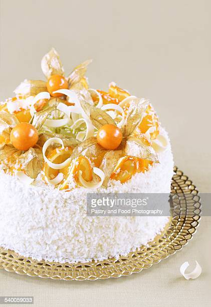 Orange Coconut Cake