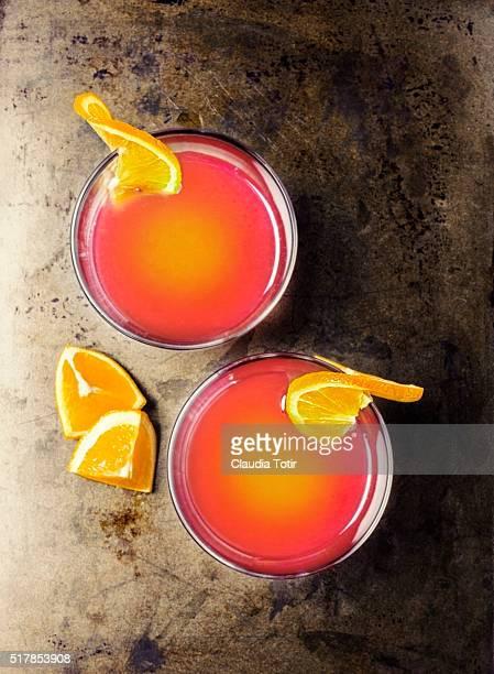 Orange cooctail