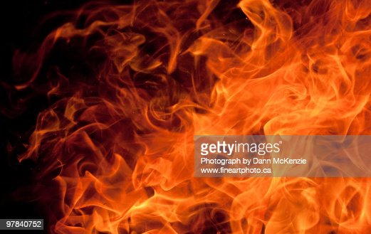 Orange Dancing Flame