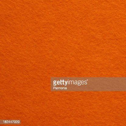 Orange Felt Background