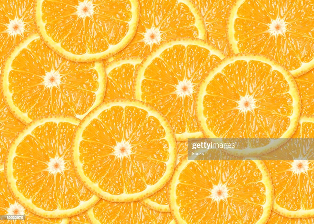 Orange fruit background : Stock Photo
