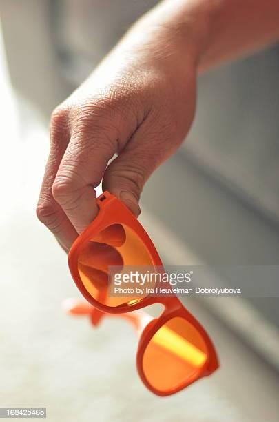 Orange glasses
