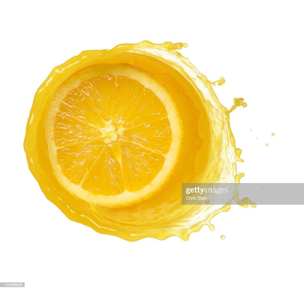 Orange Juice Splash : Stock Photo