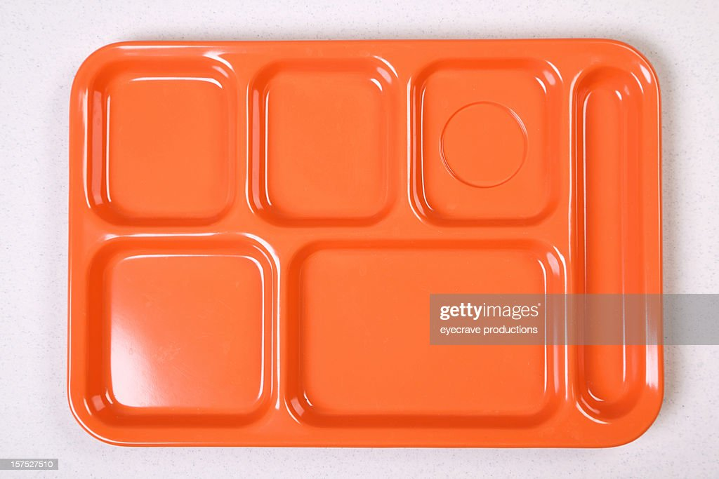 orange lunch tray diet series