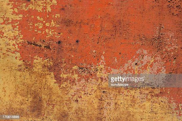 Orange Metal Texture