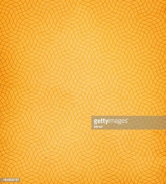 orange papier avec déformé Modélisation 3D