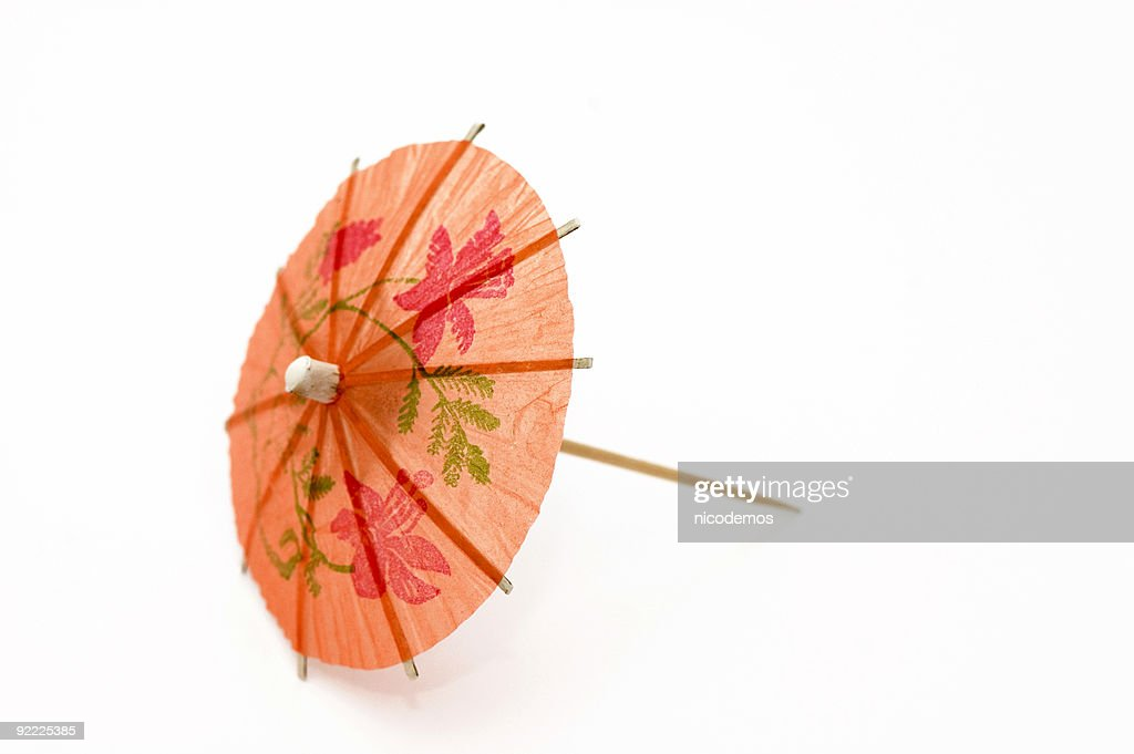 Orange Party Umbrella