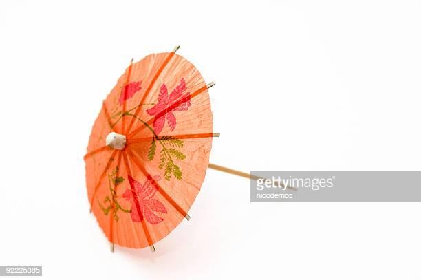 Orange Party Regenschirm