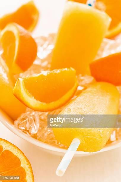 Orange Popsicles