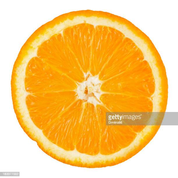 Orange Teile Mit Clipping Path