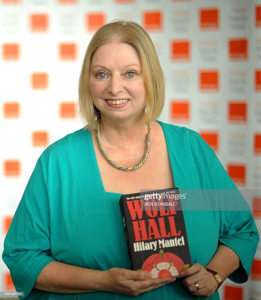 Orange Prize for Fiction shortlisted author Hilary Mantel poses for photographs at a photocall prior to the awards ceremony, at the Royal Festival Hall in London on June 9, 2010. The winner will be presented with their award by Britain's Camilla, Duchess of Cornwall, at a ceremony later this evening.