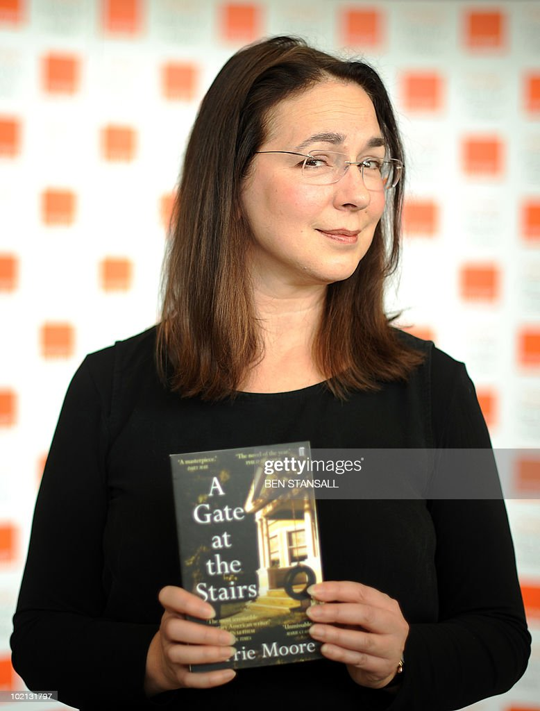 Orange Prize for Fiction shortlisted author Lorrie Moore poses for photographs at a photocall prior to the awards ceremony, at the Royal Festival Hall in London on June 9, 2010. The winner will be presented with their award by Britain's Camilla, Duchess of Cornwall, at a ceremony later this evening.