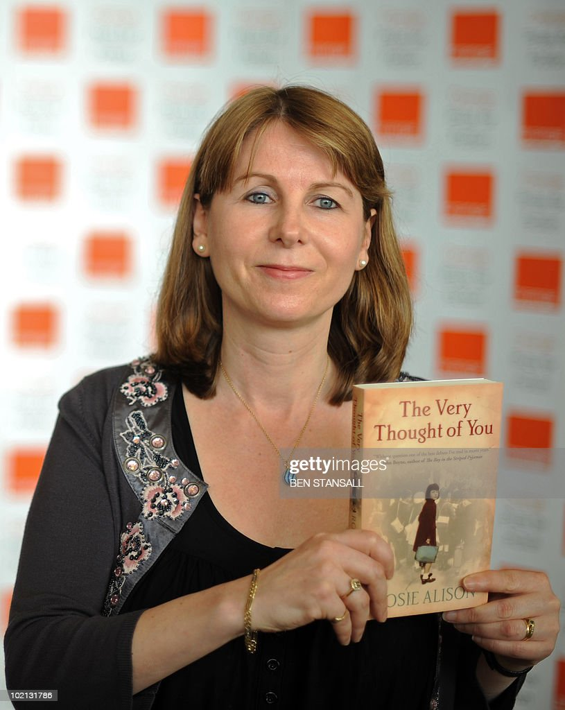 Orange Prize for Fiction shortlisted author, Rosie Alison poses for photographs at a photocall prior to the awards ceremony, at the Royal Festival Hall in London on June 9, 2010. The winner will be presented with their award by Britain's Camilla, Duchess of Cornwall, at a ceremony later this evening.