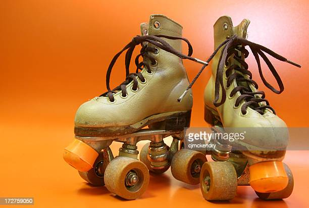 orange skates