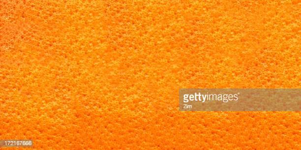 macro pelle arancione