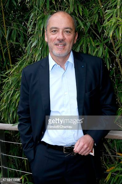 Orange Stephane Richard attends the 2015 Roland Garros French Tennis Open Day Five on May 28 2015 in Paris France