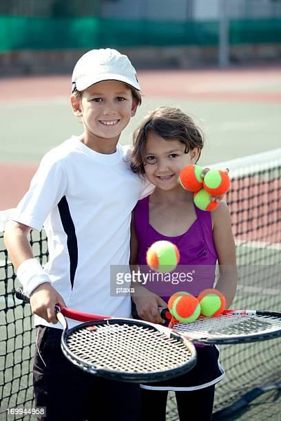 Laranja jogadores de ténis