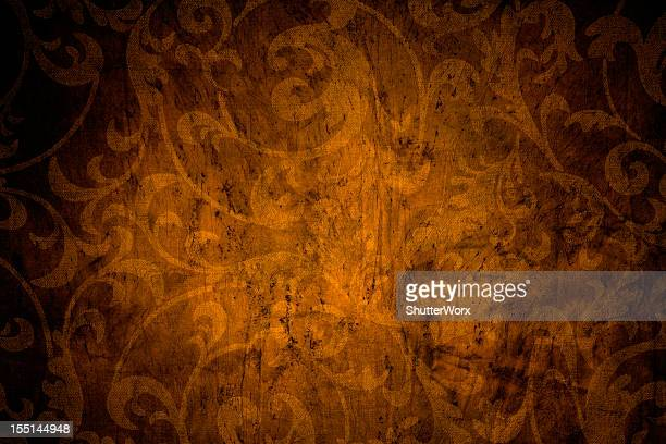 Orange Vintage Background