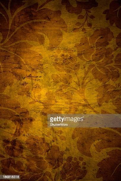 Orange Vintage Background