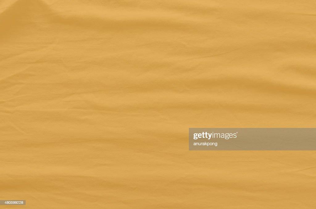 orange Wrinkled Fabric Texture : Stock Photo