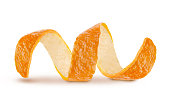curl mandarin peel,Orange - Fruit, Lemon - Fruit, Grapefruit, Citrus Fruit, Coiled Spring