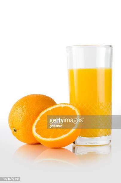 Oranges et jus de fruits