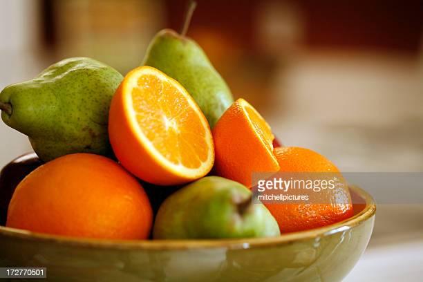 Orangen und Birnen