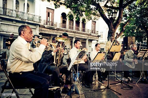 Orchestra in La Havana, Cuba