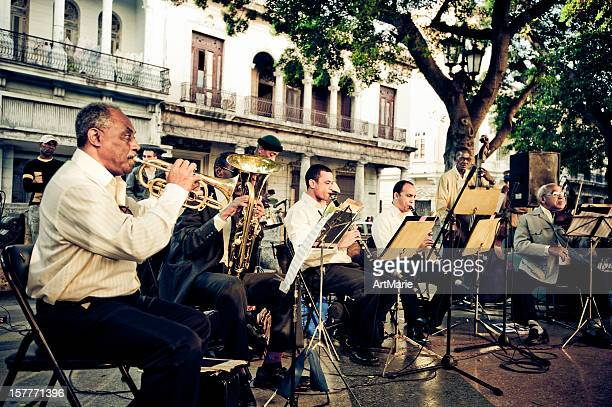 Orchester in La Havanna, Kuba