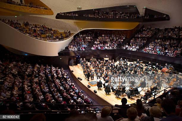 Orchestra Performance at the Philharmonie de Paris