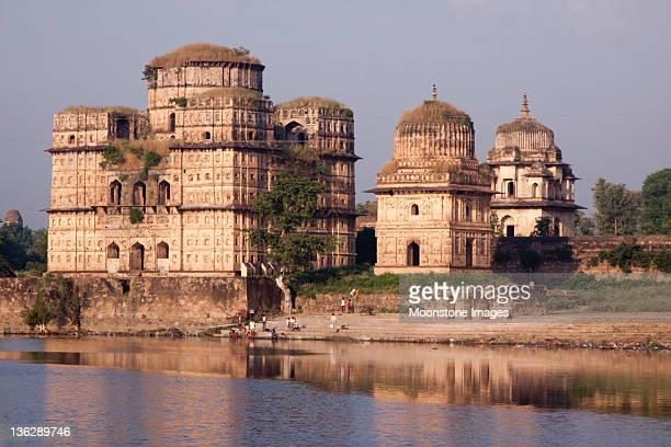 Orchha in Madhya Pradesh, India