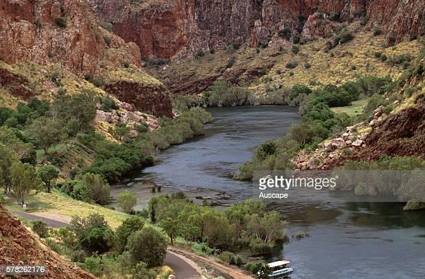 Ord River near the Ord River Dam North Kimberley region Western Australia Australia