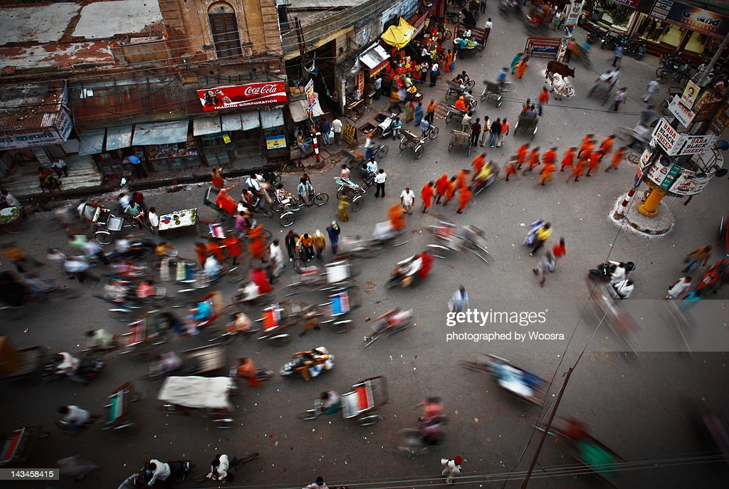 Order in chaos, in Varanasi India