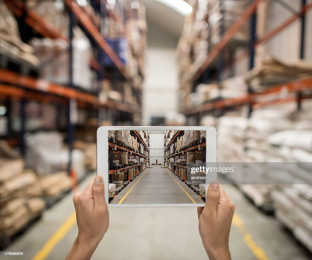 Ordering online from a distribution warehouse
