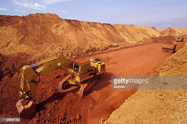 Ore extraction in the Amazon