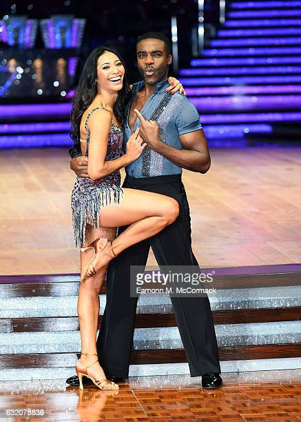 Ore Oduba and Karen Clifton attend Strictly Come Dancing Live Tour Photocall on January 19 2017 in Birmingham England