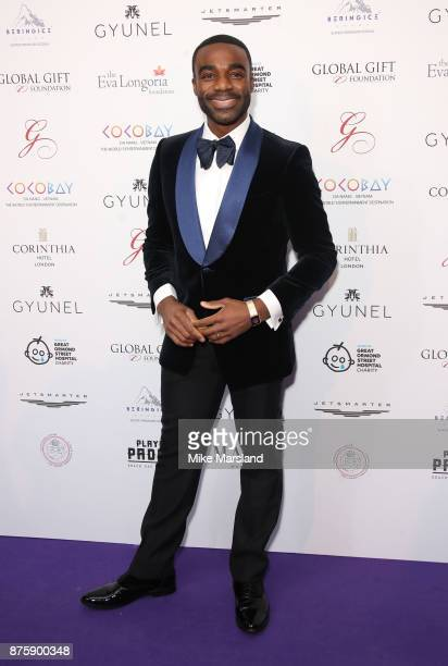 Ore Oduba attends The Global Gift Gala London held at Corinthia Hotel London on November 18 2017 in London England