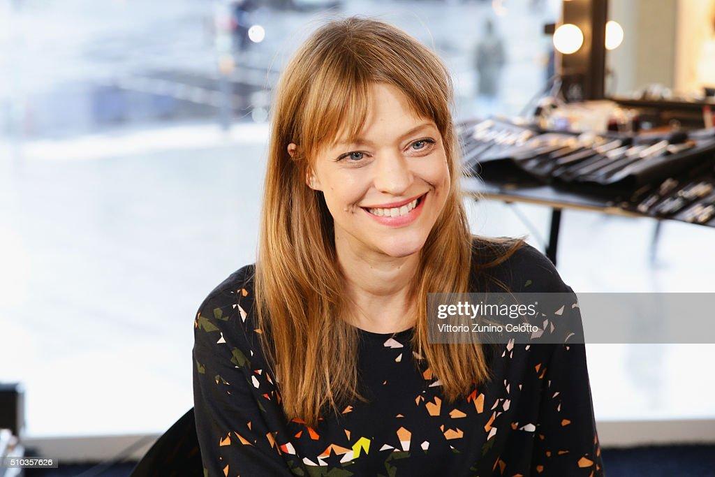 L'Oreal Ambassador Heike Makatsch At The 66th Berlinale International Film Festival