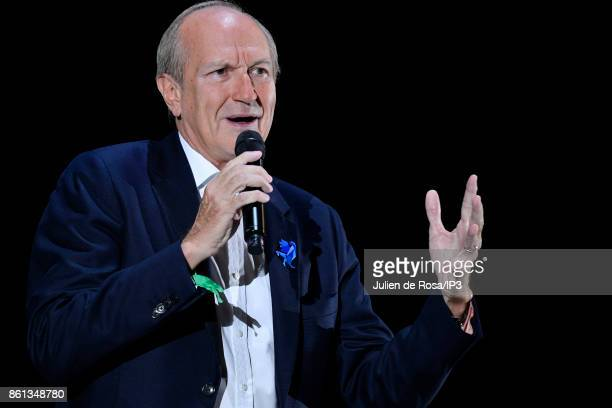 Oreal CEO Jean Paul Agon attends the third edition of Bpifrance INNO generation at AccorHotels Arena on October 12 2017 in Paris France This event...