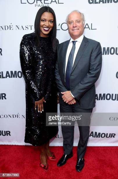 Oreal Paris Senior Vice President of Marketing Anne Marie NelsonBogle and Condé Nast President Bob Sauerberg attend Glamour's 2017 Women of The Year...