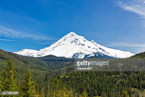 USA, Oregon, Mount Hood