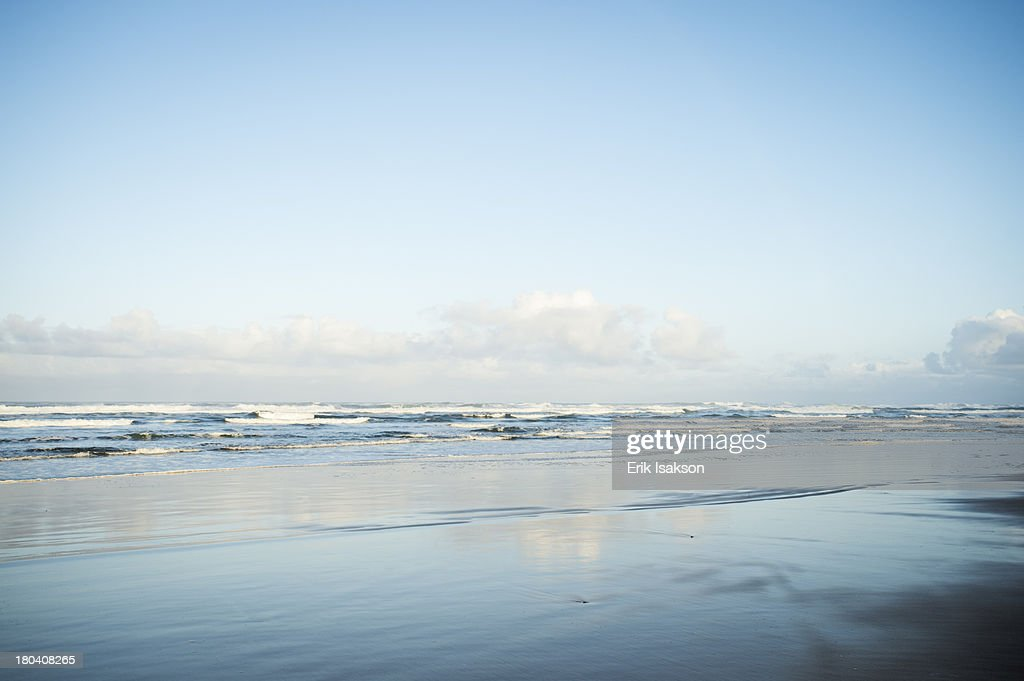 USA, Oregon, Rockaway Beach, Scenic seascape