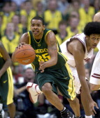 Oregon senior guard Andre Joseph during 7063 loss to Stanford in Pacific 10 Conference men's basketball tournament semifinal at the Staples Center on...