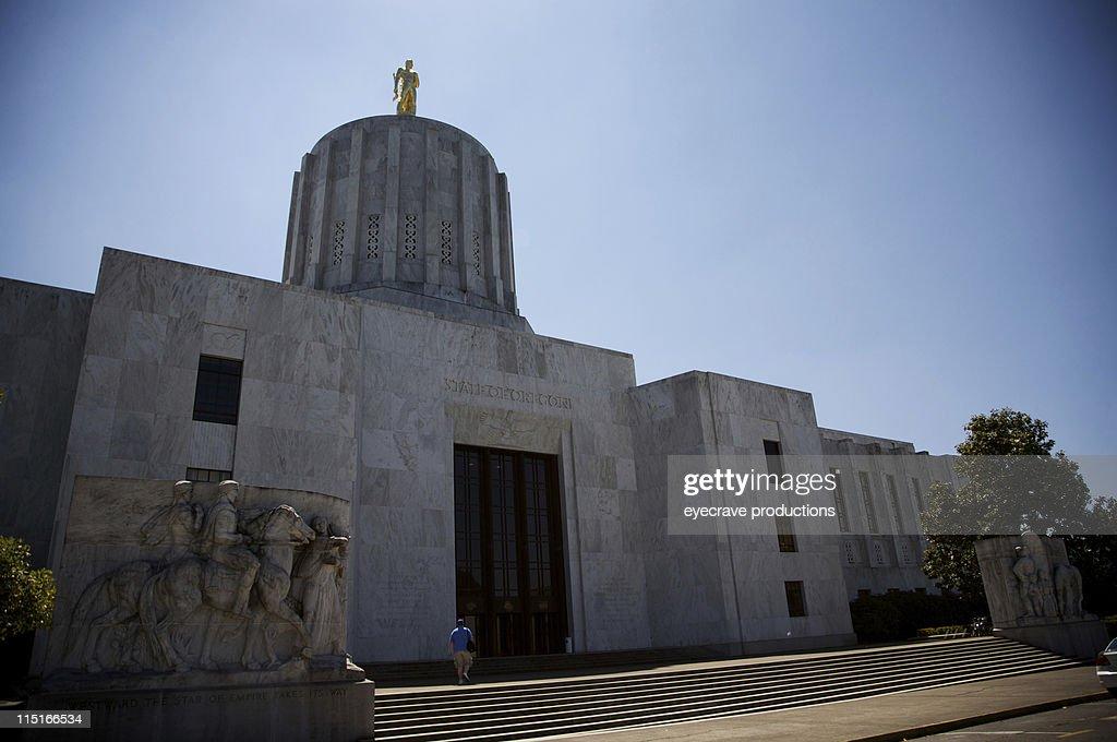 Oregon State Capitol - Salem : Stock Photo