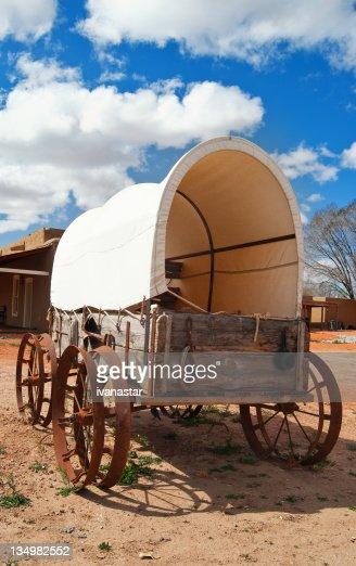 Oregon Trail Covered Wagon